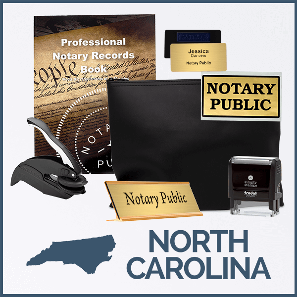 North Carolina Deluxe Notary Kit