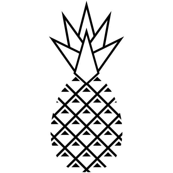 Pineapple Craft Stamp