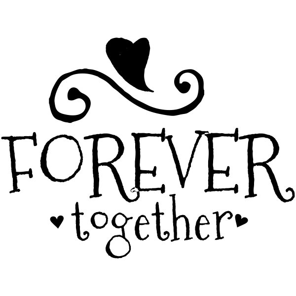 forever together craft stamp simply stamps