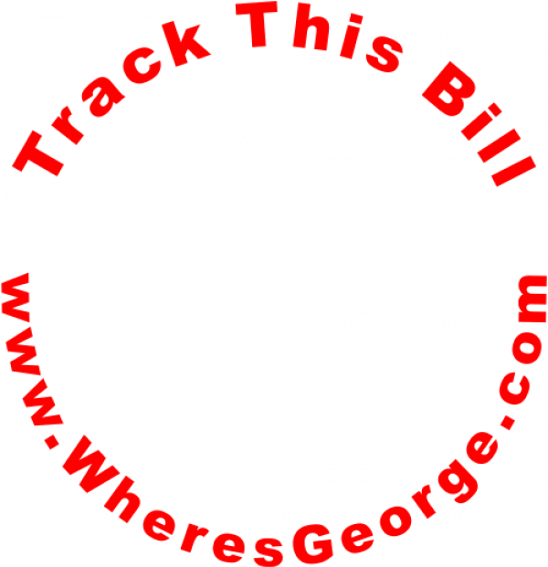 Wheres George Circle Website Tracking Stamp