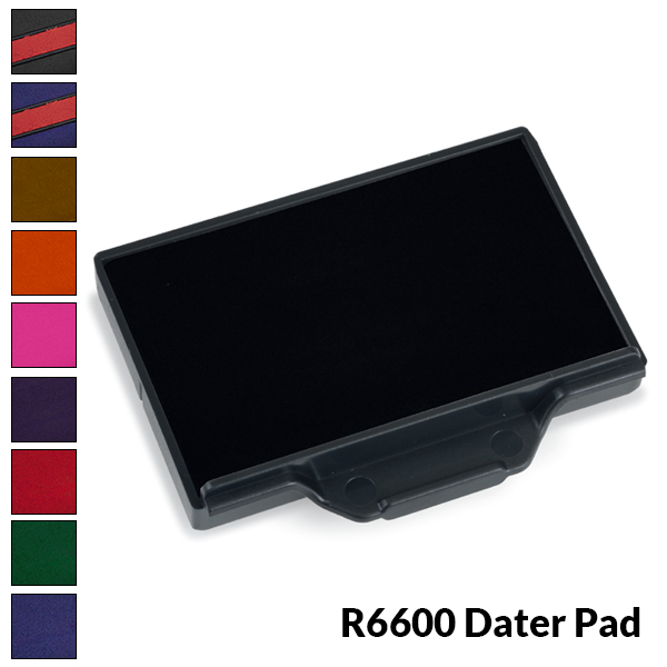 Dater Stamp Ink Pad - R6600