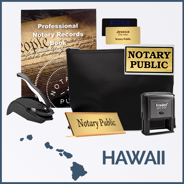 Hawaii Deluxe Notary Kit