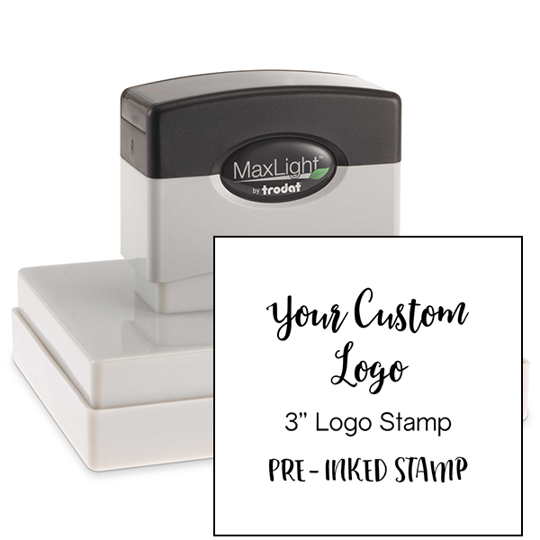 Your Large Logo Custom Stamp