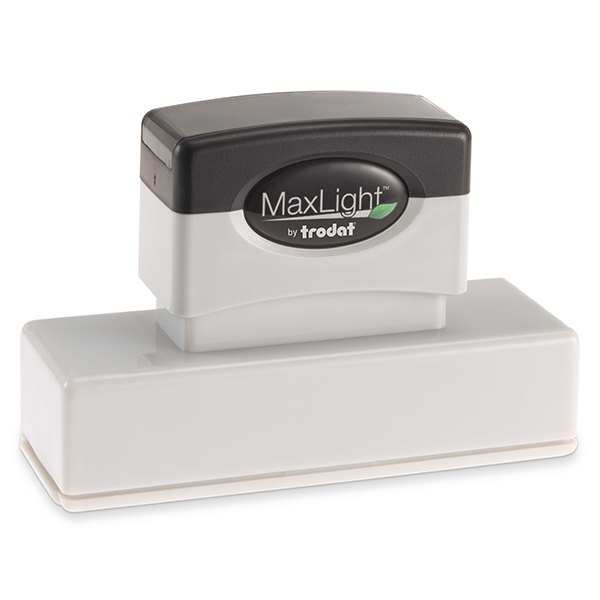 MaxLight Custom Pre-Inked Stamp - MAX-265Z -  Black Ink