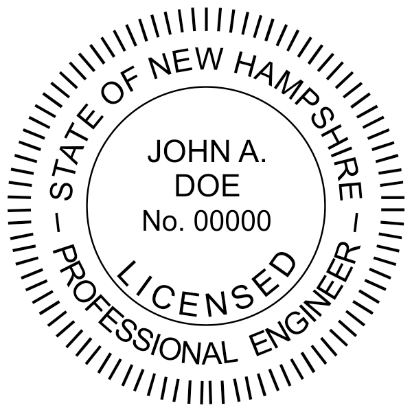 State of New Hampshire Engineer