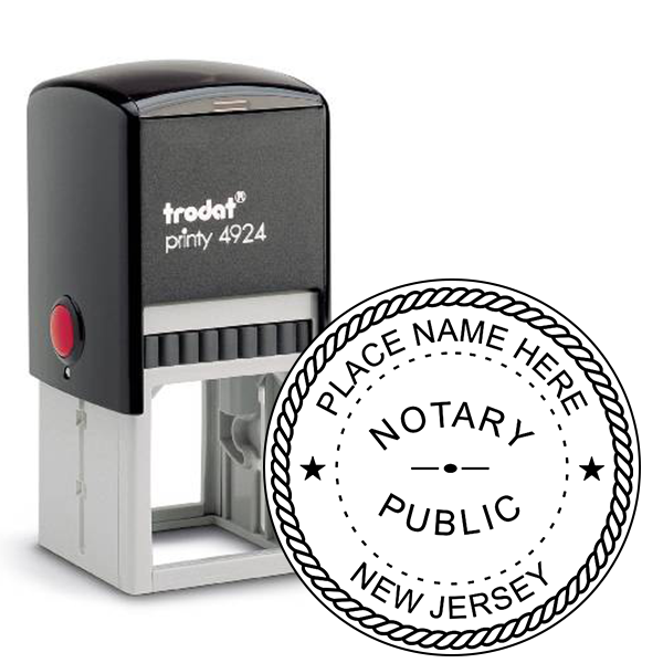 New Jersey Notary Seal Stamp