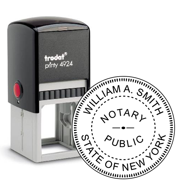 New York Notary Seal Stamp