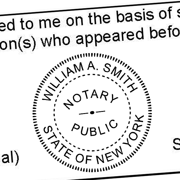 New York Notary Seal Stamp Tap On The Above Image For More Views