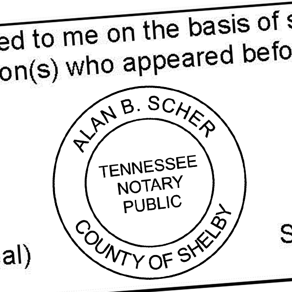 Tennessee Notary Seal No Exp Date
