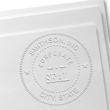 Custom Corporate Seal Embosser