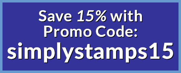 Save 15% with Coupon Code simplystamps15