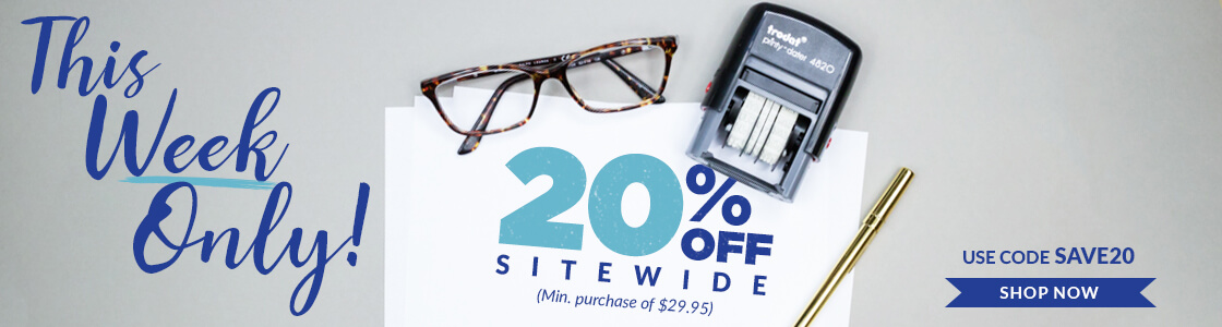 20 Off Sitewide