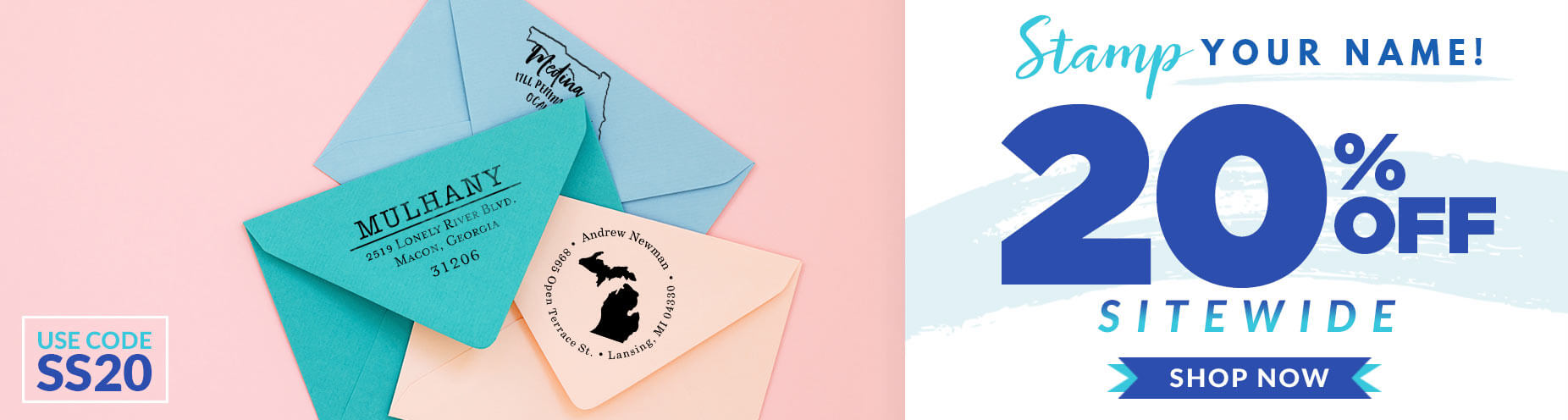 Spring Stamp Sale 20% off Sitewide