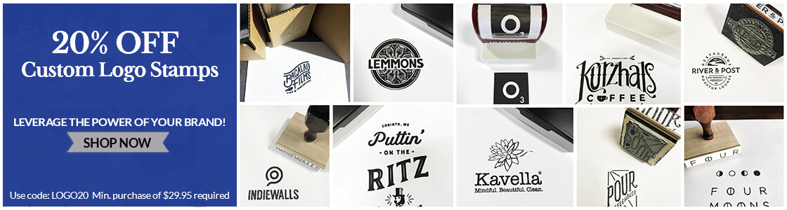 20% Off Logo Stamps