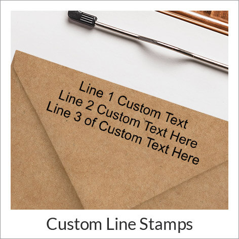 Address Stamp Themes Round Stamps Best Ers Custom Line