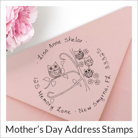 Mothers Day Address Stamps