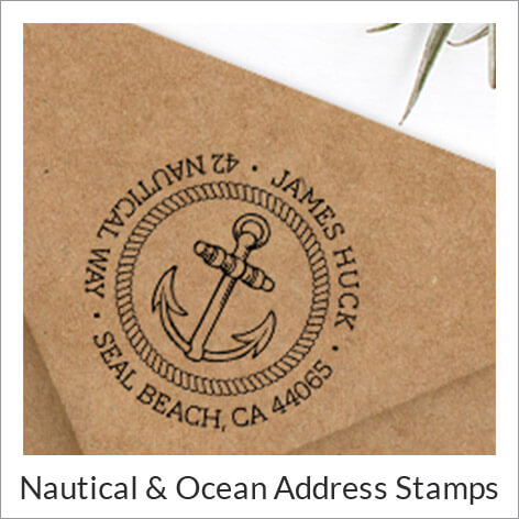 Summer Address Stamps