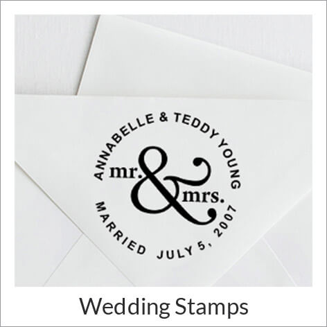 Wedding Address Stamps
