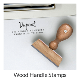 Wood Handle Stamps
