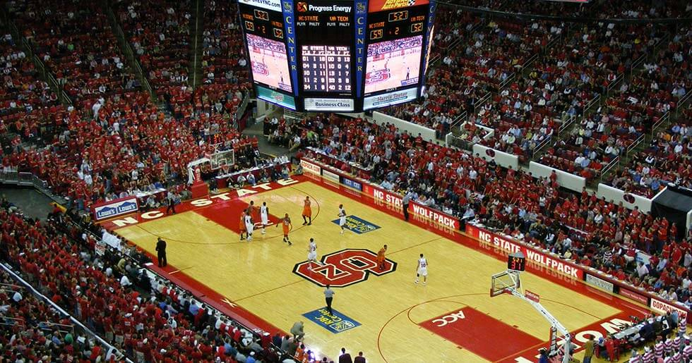 The PNC Arena in Raleigh